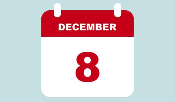 Chiusura 8 Dicembre