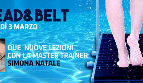 Tread&Belt, due lezioni con Simona Natale