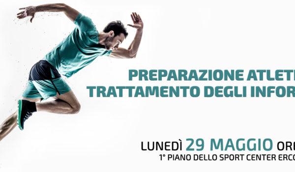 Preparazione atletica e trattamento degli infortuni – 29 maggio