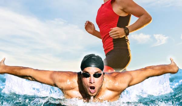 Allenamenti estivi aquathlon (disciplina del triathlon)