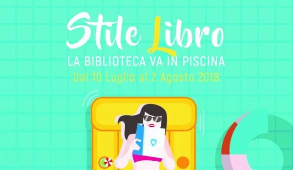 STILE LIBRO: la Biblioteca va in piscina