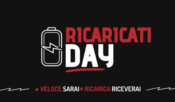 Ricaricati Day: solo il 28 Luglio 2021 paghi 100€ avrai 50€ in omaggio
